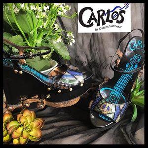 CARLOS SANTANA 'Harem' Sequin, Peace, Guitar Wedge